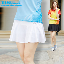 Custom Sports Clothing Manufacturers Wholesale Ladies Pleated Short Tennis Culottes