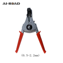 Automatic stripping pliers multifunction wire cutters wire stripper  cable clamp electrician tools suede pliers duck-nosed plier стоимость