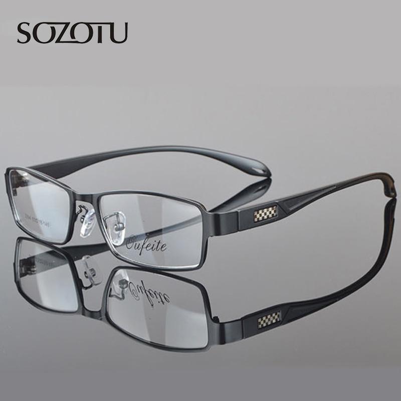 2016 النظارات البصرية إطار الرجال الكمبيوتر نظارات النظارات الإطار ل ذكر شفاف واضح عدسة armacao دي YQ071