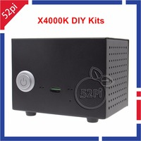 X4000K DIY Kits HIFI Audio Mini PC Kit Expansion Board With Metal Case And 5V 4A