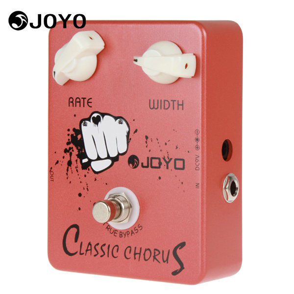 JOYO JF-05 Classic Chorus Guitar Pedal Effect Pedal Box Offering Incredible Sound With 2 Knobs Electric Guitar Accessories