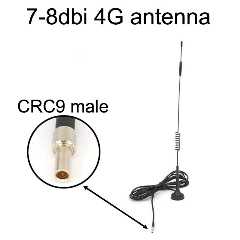 Nueva antena LTE 4G 7-8 dbi 698-960/1700-2700Mhz con base magnética, enchufe CRC9 macho RG174 3M para Huawei E3372 E353 E872 Antena móvil SG7900 U/V Dualband, 144/430Mhz, SG-7900, alta ganancia dBi, Antena de Radio de coche, fuerte Antena de Base de señal, venta al por mayor