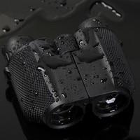 HD10x25 Compact Hunting Binoculars Powerful Zoom Long Range Professional Binocular Folding Telescope For Travel And Sports