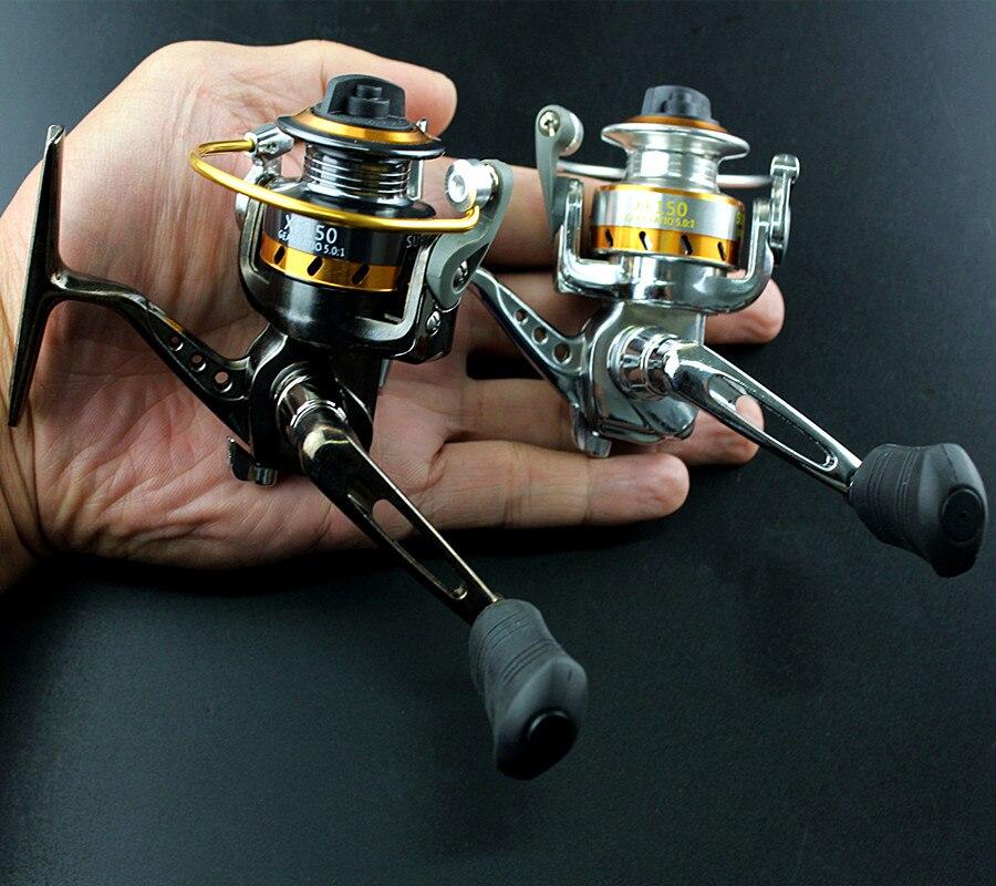 Мини из металла Ocean Рок Рыбалка прялка 3BB + 1RB 5.0: 1 высокая прочность Бесплатная д ...