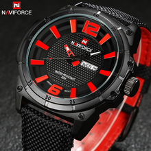 2016 New Arrival Men's Watch Top Brand Men Fashion Sports Watches Leather Waterproof Date Day Hours Quartz Army Military Watch
