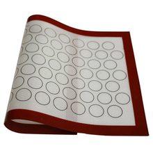 Домашний антипригарный силиконовый коврик для выпечки печь выпечка, Макарон Торт лист кухня