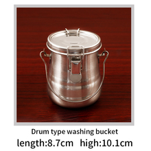 BGLN Oil Painting Brush Washing Bucket Wash Pen Barrel Stainless Steel Oil Paint Brush Washer For School Students Art Supplies