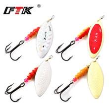 FTK 1PC Spinner bait 4g/7g/12g/18g/30g Fishing lure Spinner bait With Beads With Mustad Treble Hooks For Lure Fishing цены