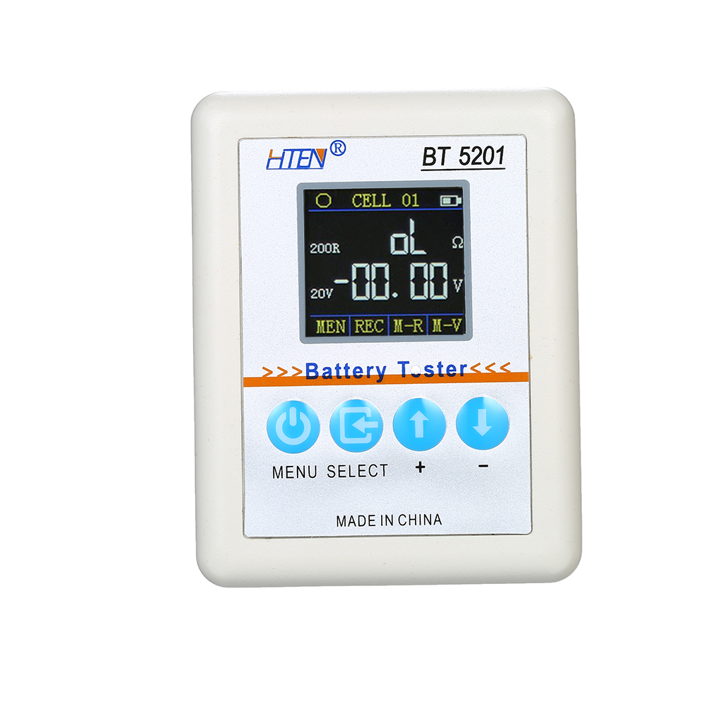 Battery Tester BT5201 USB High Precision Internal Resistance Meter for Rechargeable battery capacity tester