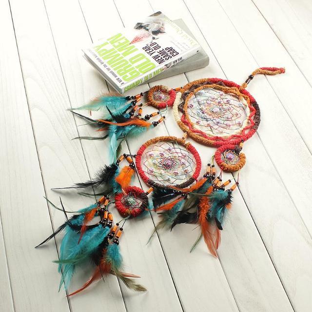 Colorful Handmade Big Dream Catcher