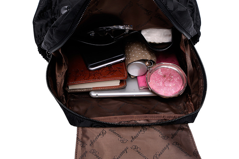 carta moda sacolas lazer para mochilas femininas mochila