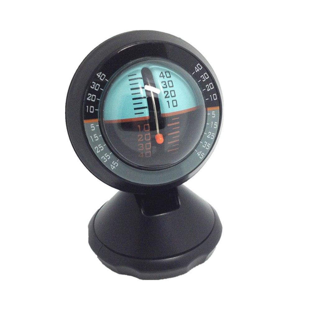 Автомобильный инклинометр, Регулируемый угол наклона, балансировочный измерительный прибор, компас, градиентный балансир, 2019