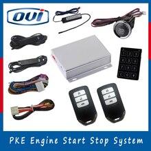Интеллектуальный пассивный вход без ключа дистанционного запуска кнопка старт кнопка остановки двигателя системы