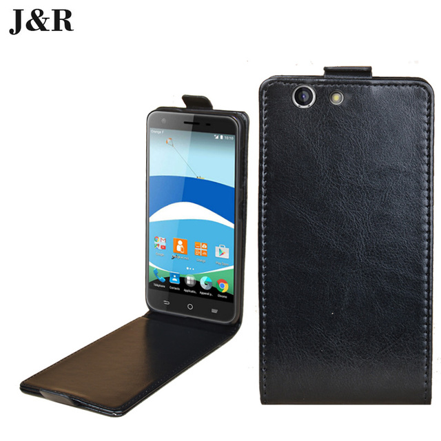 J&R for ZTE Blade A512 Case PU Leather Phone Cover for ZTE Blade A512 Vertical Flip Cover Phone Bag