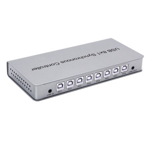 Image 2 - Adaptador USB Controlador Síncrono 8x1 USB2.0 A B Masculino Conector Repetidor Para Jogos PC Keyboard Rato KVM Extender Livre grátis