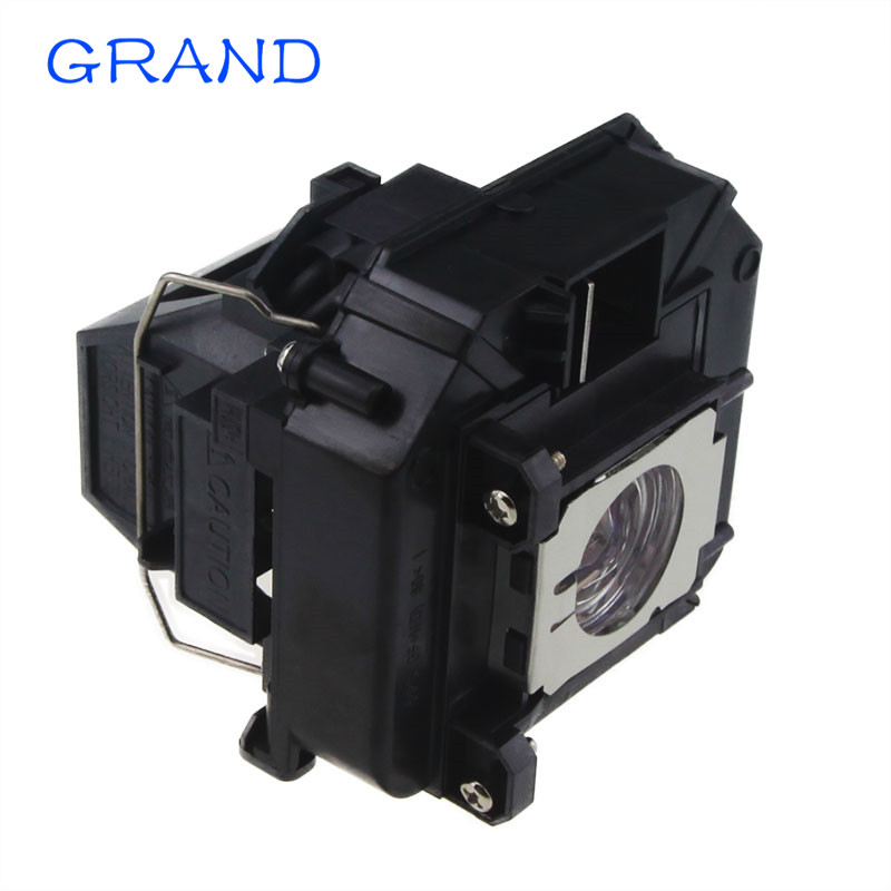 ELP60 Projector Lamp With Housing for Projector EB-C2010X EB-C2030WN EB-C2060XN EB-C2000X EB-C2020XN GRAND projector lamp with housing elplp77 for eb 1970w eb 1975w eb 1980wu eb 1985wu eb 4550 eb 4650 eb 4750w eb 4850wu eb 4950wu