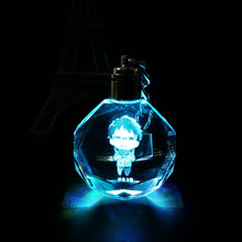 Yuri On Ice Crystal LED Light Pendant Keychain – C