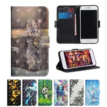 JYERAECOM Flip PU Leather + Wallet Cover Case For Xiaomi Red