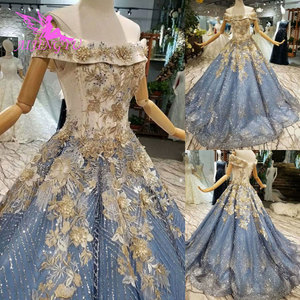 Image 5 - AIJINGYU Wedding Dresses New Vintage Gowns Marriage Islamic Long Tail Indian Sexy Bride Affordable Wedding Dress Shops