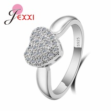 Trendy 925 Sterling Silver Cubic Zirconia Ring