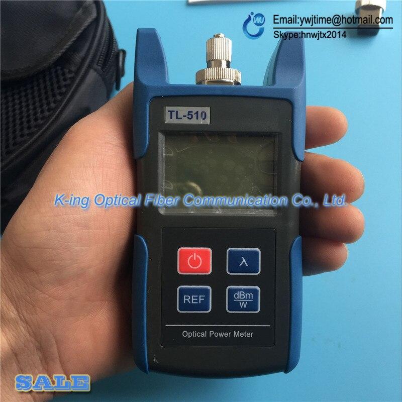 FTTH Fibra Misuratore di Potenza Ottica OPM TL-510C TL510C Fibra Ottica Cable Tester Tester Ottico-50dBm ~ + 26dBm FC SC ST Connettore