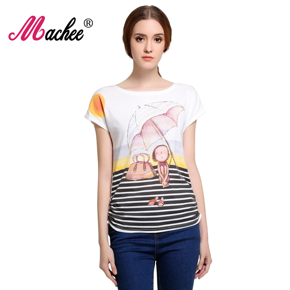 2019 Top Selling Womens Clothes Mode Vintage Printemps Été À Manches Courtes Animal Imprimé Filles Tops Coton Femme Femmes T-shirt