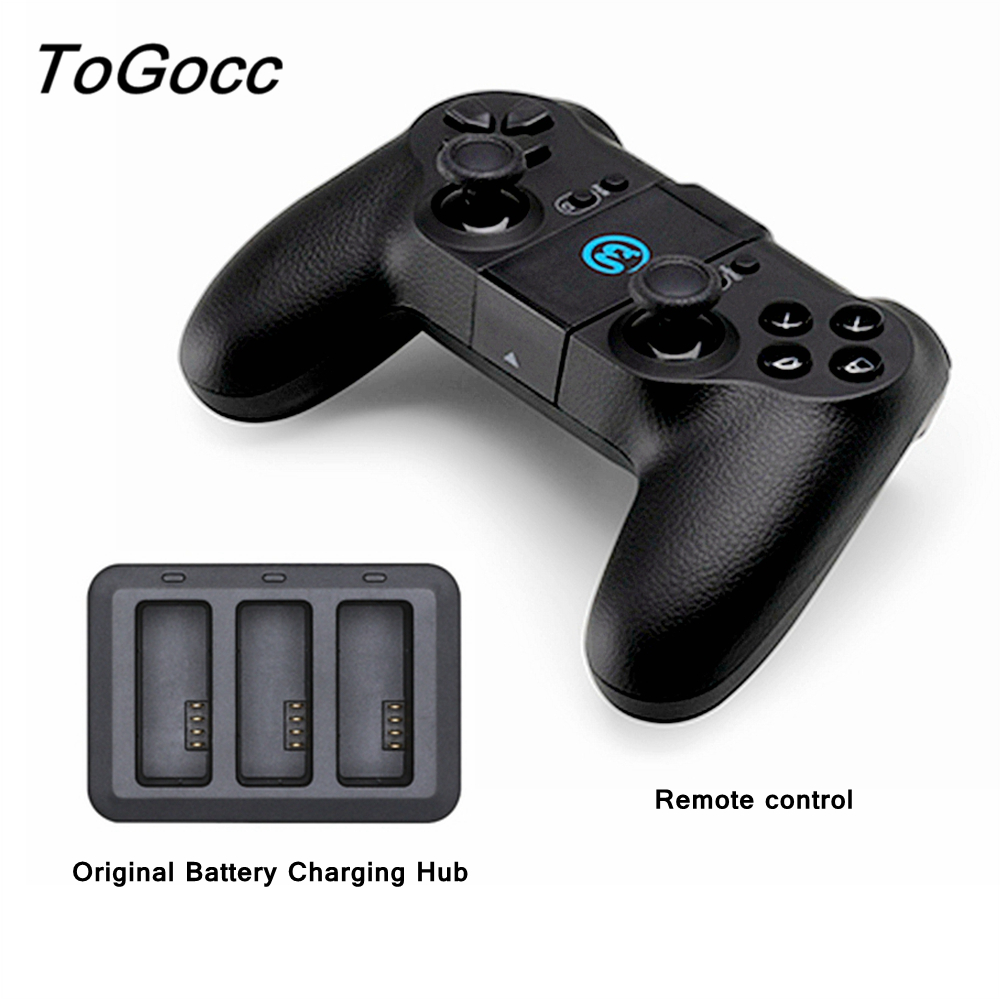 Original DJI Tello Remote Controller + Battery Charger Charging Hub Tello Drone Flight Battery Accessories tello battery charging hub designed for use with tello flight batteries accommodate up to 3 tello batteries at the same time