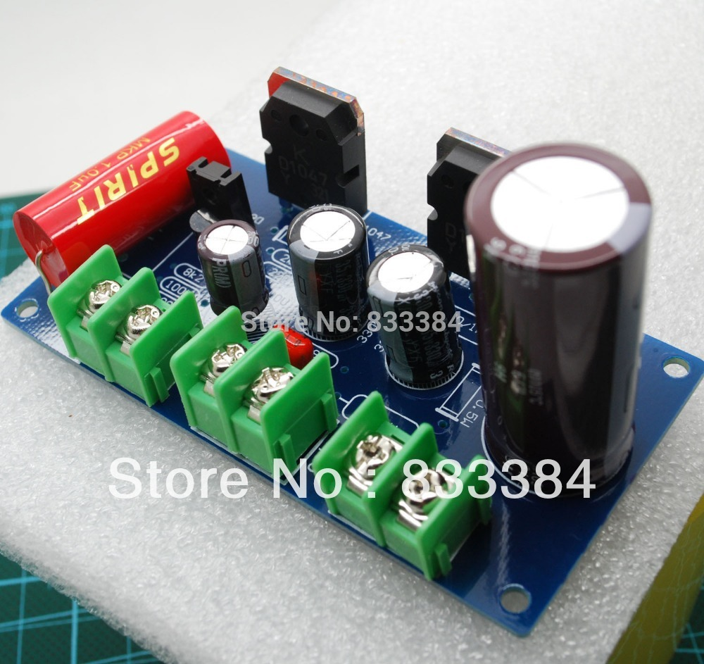 цена на Free shipping New SC HOOD JLH 1969 10W+10W Class A amplifier kit for DIY