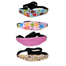 Car Styling Baby Car Safety Seat Fixed Belt Sleep Infants Baby Head Support Stroller Fastening Belt Adjustable Safe Head Belt(China)