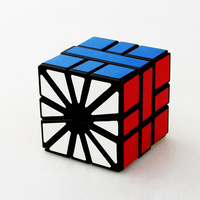 Tise Speed Square Puzzle Cube Strange Shape Stress Reliever Geometry Magic Cube Educational Brain Teaser Toys