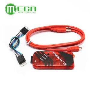 Image 2 - 5 sätze/los PICKIT2 PIC Kit2 Simulator PICKit 2 Programmer Emluator Rot Farbe w/USB kabel Dupond Draht