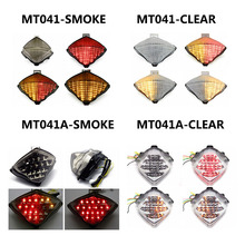 For Yamaha YZF-R1 2004-2006 Motorcycle Clear LED Tail Light Turning Singal Light Stop Lamp цена и фото