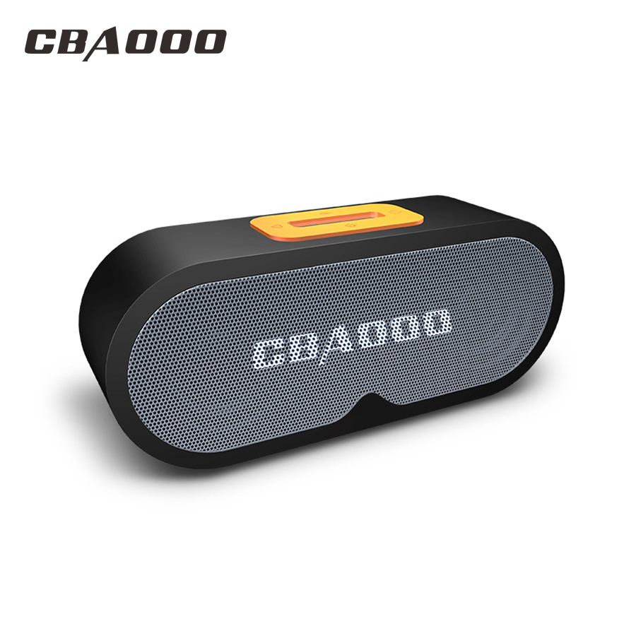 CBAOOO Mini Bluetooth Speaker Portable Wireless Speakers 3D Stereo Loudspeake Music Surround Support TF Card AUX For Smartphone