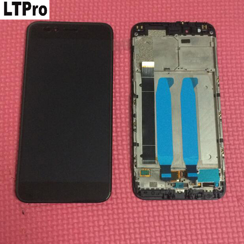 """LTPro Best Quality 5.5\""""Full LCD Display Touch Screen Digitizer Assembly with Frame For Xiaomi Mi A1 MiA1 Phone Parts Black White"""