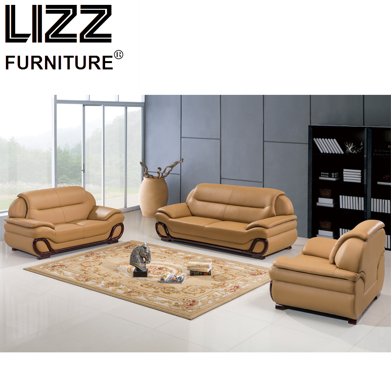 Luxury Furniture Set Genuine Leather Sofas For Living Room Modern Sofa Loveseat Chair Chesterfield