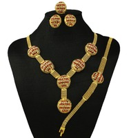 india women necklace gold jewelry sets high quality african big jewelry sets wedding jewelry fine jewelry sets
