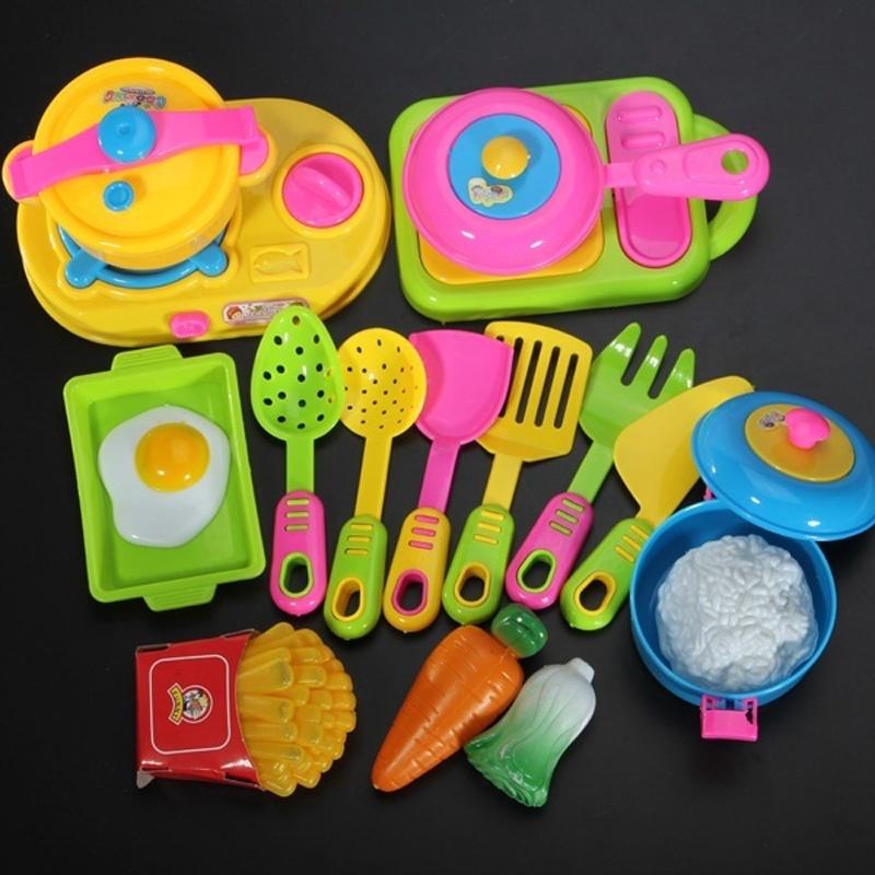 moda delicado estilo unidsset nios nios divertido juguete juego de cocina utensilios de