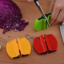 Portable Mini kitchen Knife Sharpener – Kitchen Tools Accessories – Creative Butterfly Type  Two-stage Knife Sharpener