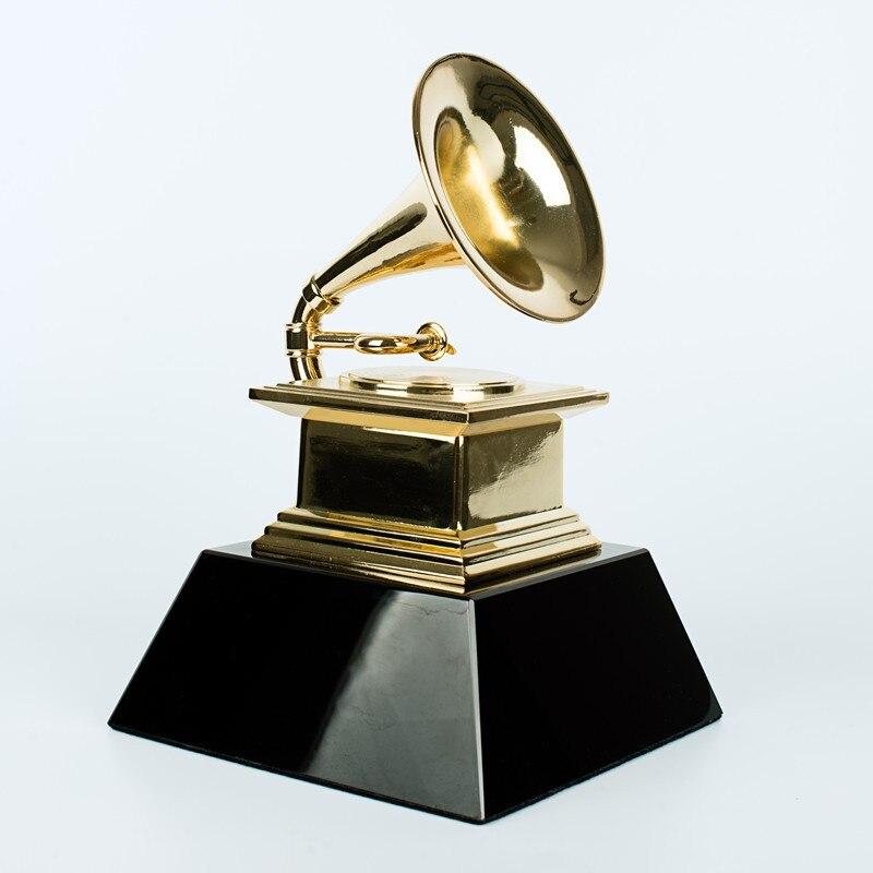 8.5lbs (официальный) академия Оскар, цинковый сплав Oscar трофей награды, 1:1 Позолоченные Оскар