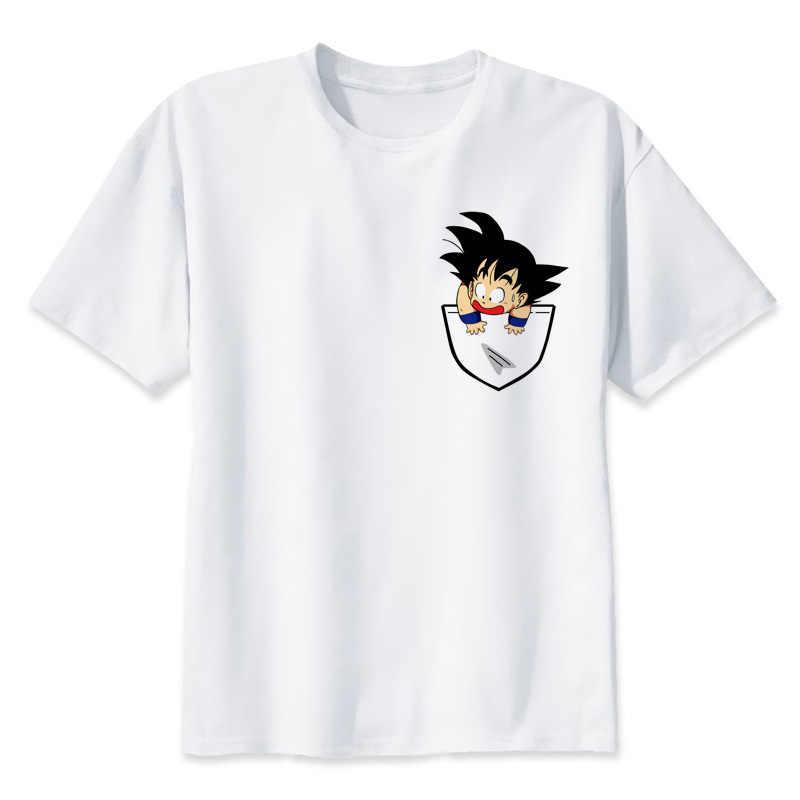 Dragon ball футболка Супер saiyan dragonball z dbz goku Vegeta capsule corp Футболка Мужская/Женская/Детская larga для мальчиков подростков