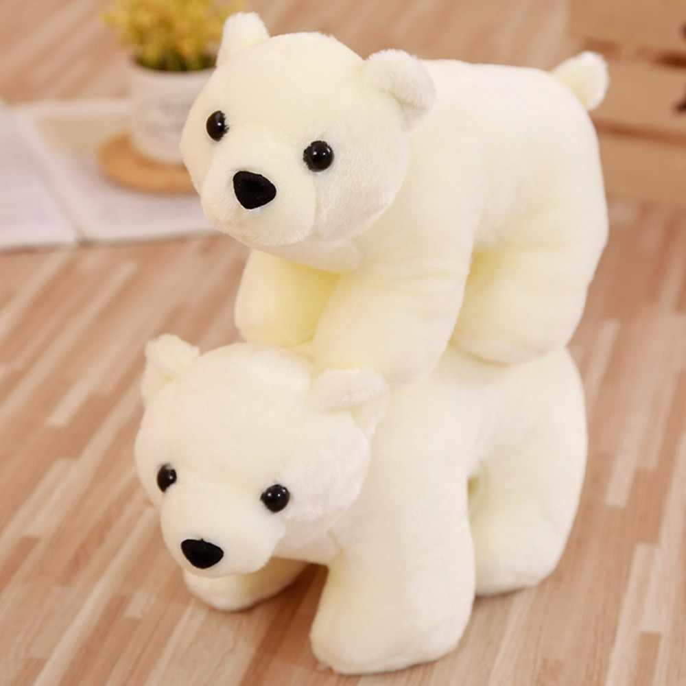 25/30 centímetros Kawaii Urso Polar Animais De Pelúcia Macia Pelúcia Brinquedo das Crianças Brinquedos de Pelúcia Para As Crianças Decoração do Quarto