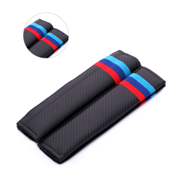Car Styling Seat Belt Pad Safety Shoulder Pillow Auto Interior Decoration for BMW Alpina Hartge E60 E90 E36 F10 X5 X1 Z3 Z4 image