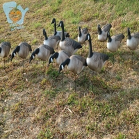 Outdoor Inflatable EVA Canada Goose Decoys Hunting Duck Shooting Practise Target Yard Field Garden Decoration