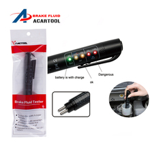 Автомобильный жидкостный тестер тормозной жидкости ручка 5 светодиодный приборная панель для DOT3/DOT4 Мини Электронная ручка тормозной жидкости тестер цифровой