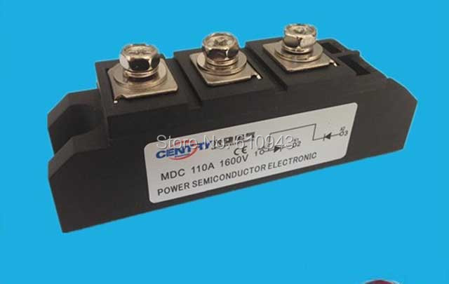 MDC110A 1600v  SKKD100A  DD110A diode modules  Single phase  Bridge Rectifier ,free shipping factory direct brand new mds200a1600v mds200 16 three phase bridge rectifier modules