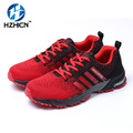 HZHICN Air Mesh Causal Fly Weave Fashion Flat High Quality Men Shoes Casual Men Breathable Light Soft Men Flats HZHCIN