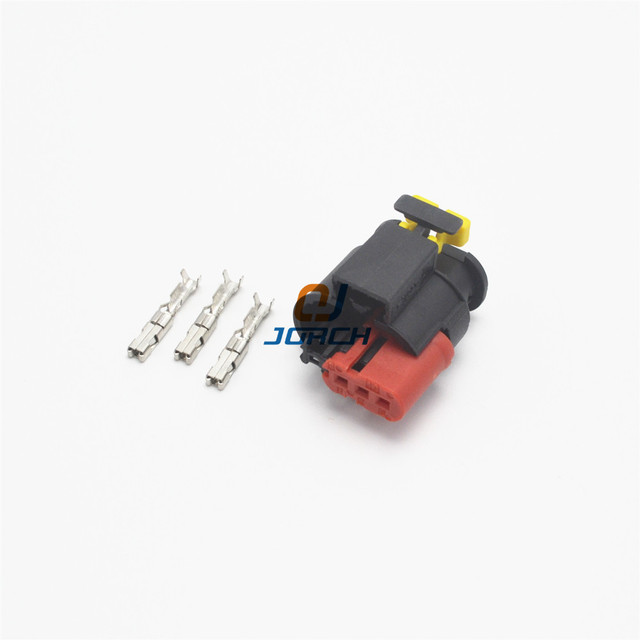 5sets 3pin tyco auto wire harness sealed sensor connector plug rh aliexpress com