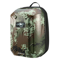 5) TEXU ing Waterproof Backpack Shoulder Bag Hard Shell Case For DJI Phantom 3Color:Army green