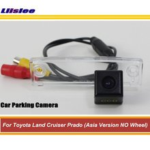 цена на Car Rear View Reverse Camera For Toyota Land Cruiser Prado (Asia Version NO Wheel) Auto Rearview Parking Camera HD CCD CAM