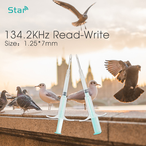 Image 3 - 칩 미니 1.25*7mm rfid 트랜스 폰더 애완 동물 공급과 x1000 주사기